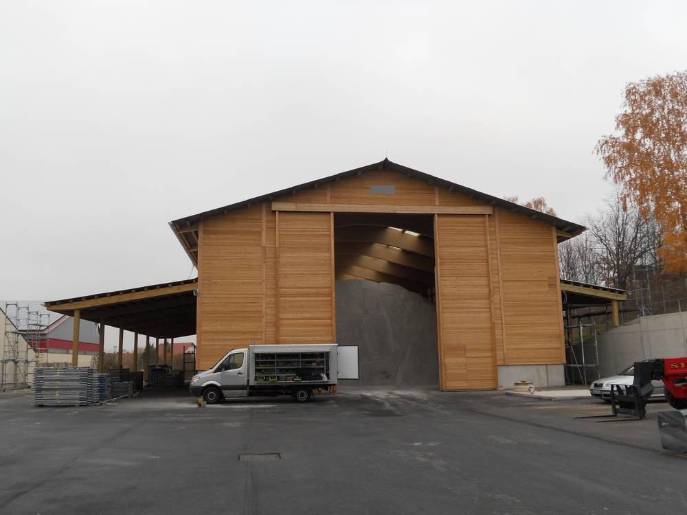 Salzgutlagerhalle